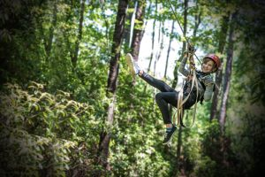The Fayetteville ziplining adventure starts here!