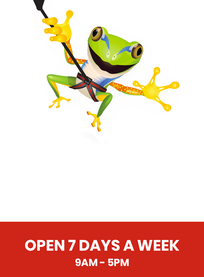 ZipQuest Waterfall & Treetop Adventure